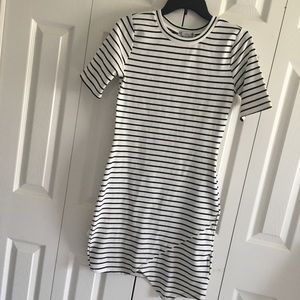 Form Fitting T-Shirt Dress